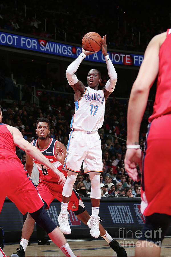 Oklahoma City Thunder V Washington Photograph by Ned Dishman
