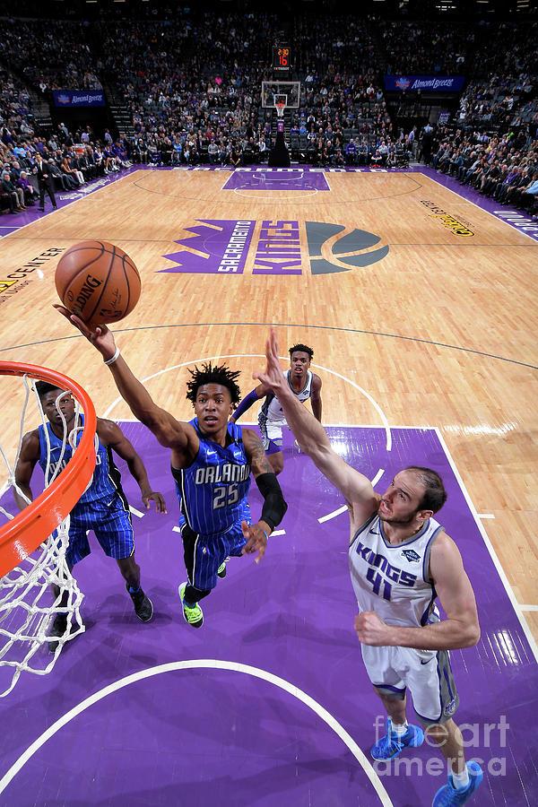Orlando Magic V Sacramento Kings Photograph by Rocky Widner
