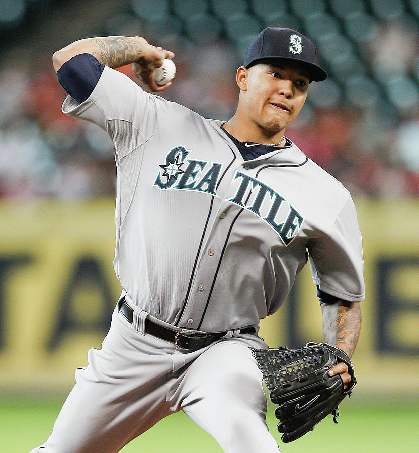 Seattle Mariners V Houston Astros 14 Photograph by Bob Levey