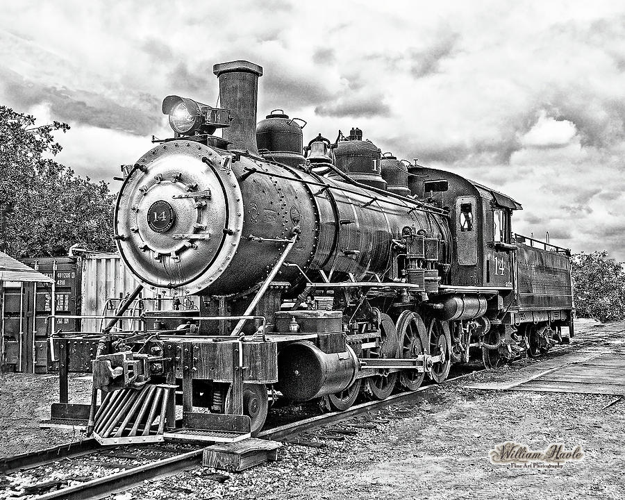 #14 Steam Train by William Havle