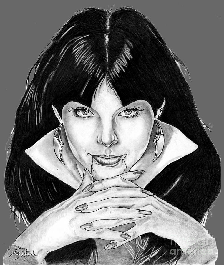 Vampirella  by Bill Richards