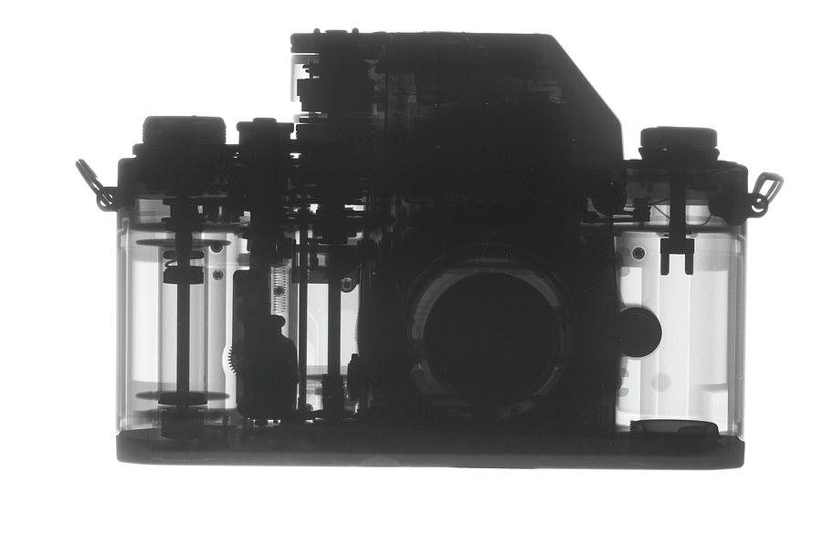 X-ray Of Camera by TED M. KINSMAN
