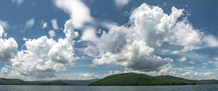 Beautiful landscape scenes at lake jocassee south carolina by ALEX GRICHENKO