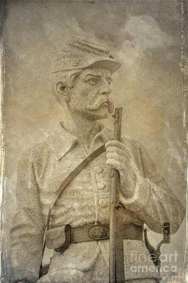 149th Pennsylvania Monument Gettysburg by Randy Steele