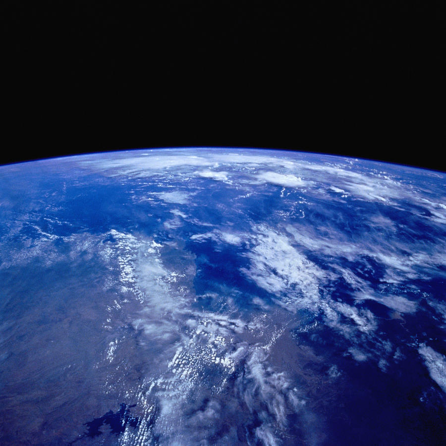 Earth From Space Photograph by Stocktrek
