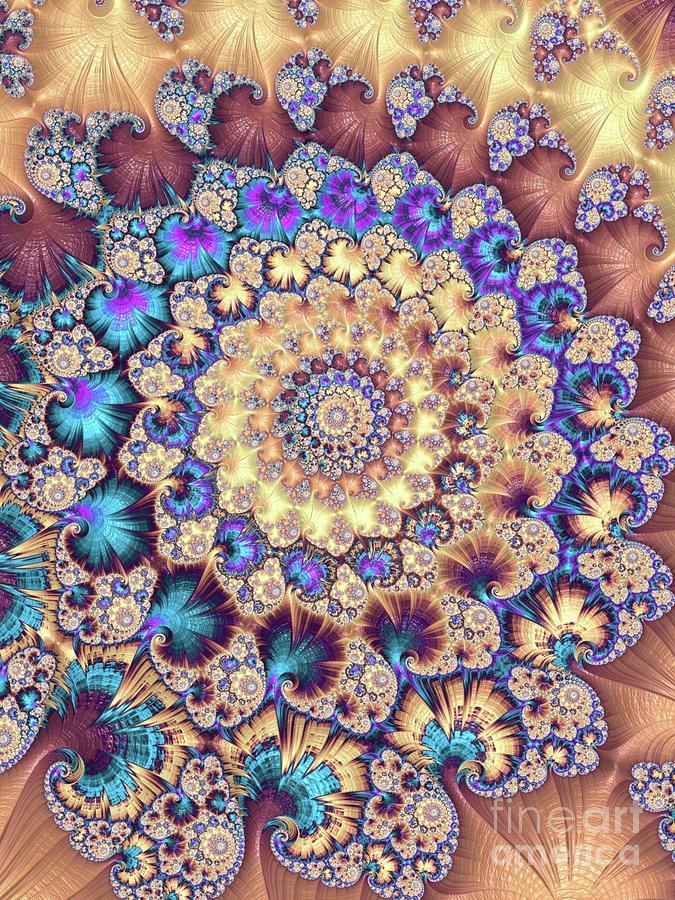 Mystic Universe, Fractals, Patterns And Designs Digital Art