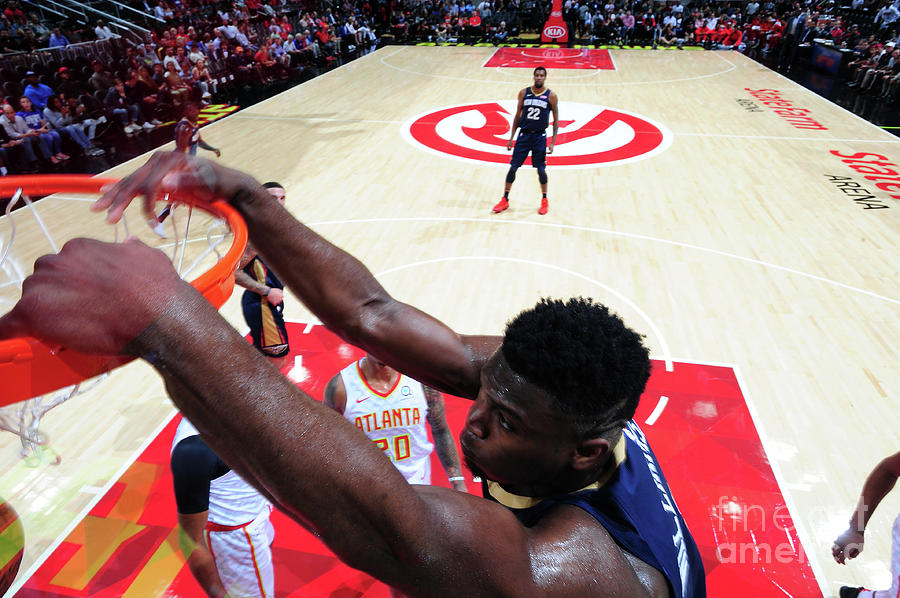 New Orleans Pelicans V Atlanta Hawks Photograph by Scott Cunningham