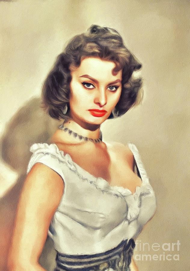 Sophia Loren, Vintage Movie Star by John Springfield