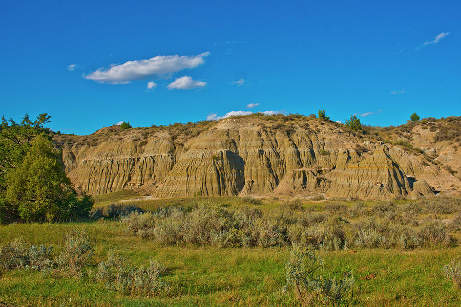 Medora Photograph - Usa, North Dakota, Medora by Bernard Friel