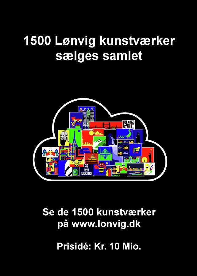 1500 Loenvig kunstvaerker by Asbjorn Lonvig