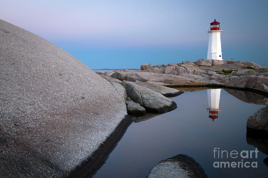 1511 Peggy's Cove Reflection by Steve Sturgill