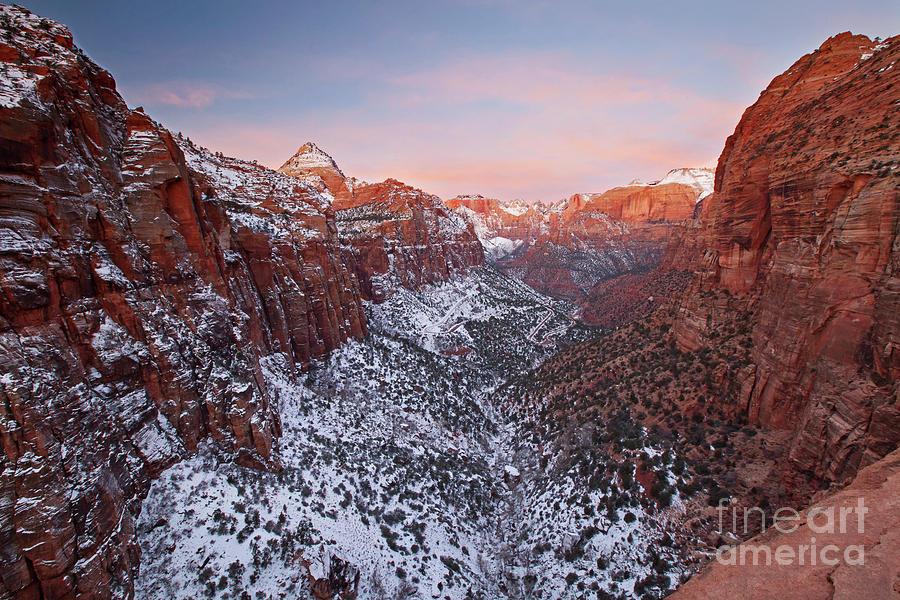 1533 Canyon Overlook Zion National Park by Steve Sturgill