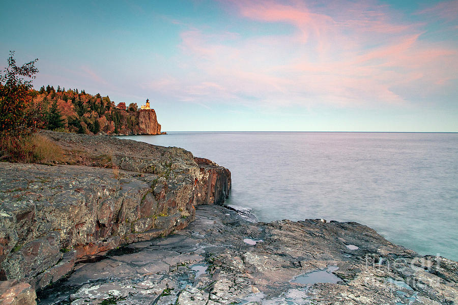 1560 Split Rock Sunset by Steve Sturgill