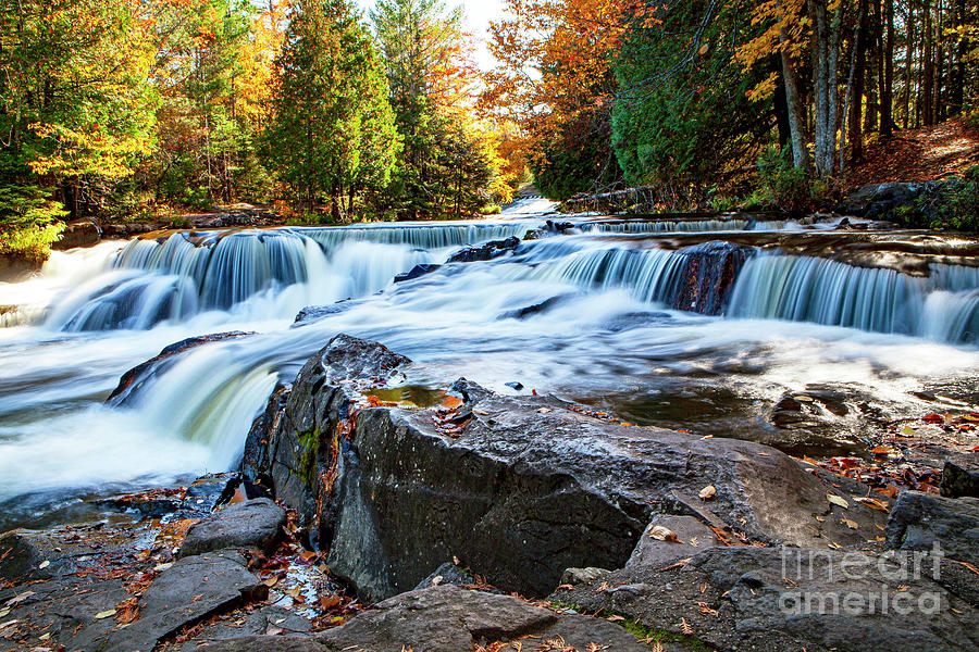 1565 Bond Falls Michigan by Steve Sturgill
