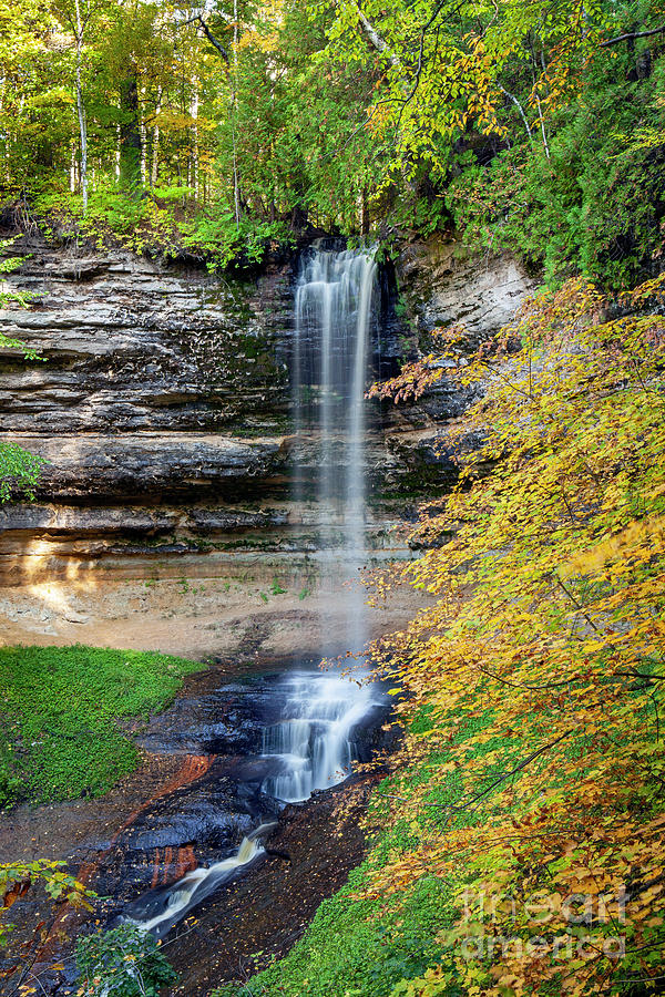 1569 Munising Falls Michigan by Steve Sturgill