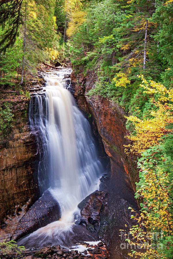 1573 Miners Falls Michigan by Steve Sturgill