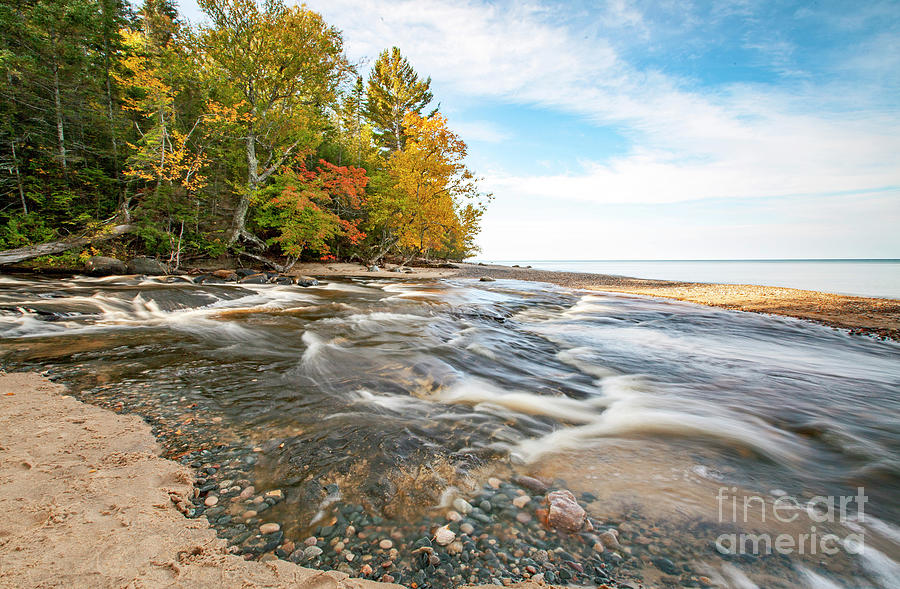1574 Autumn on Lake Superior by Steve Sturgill