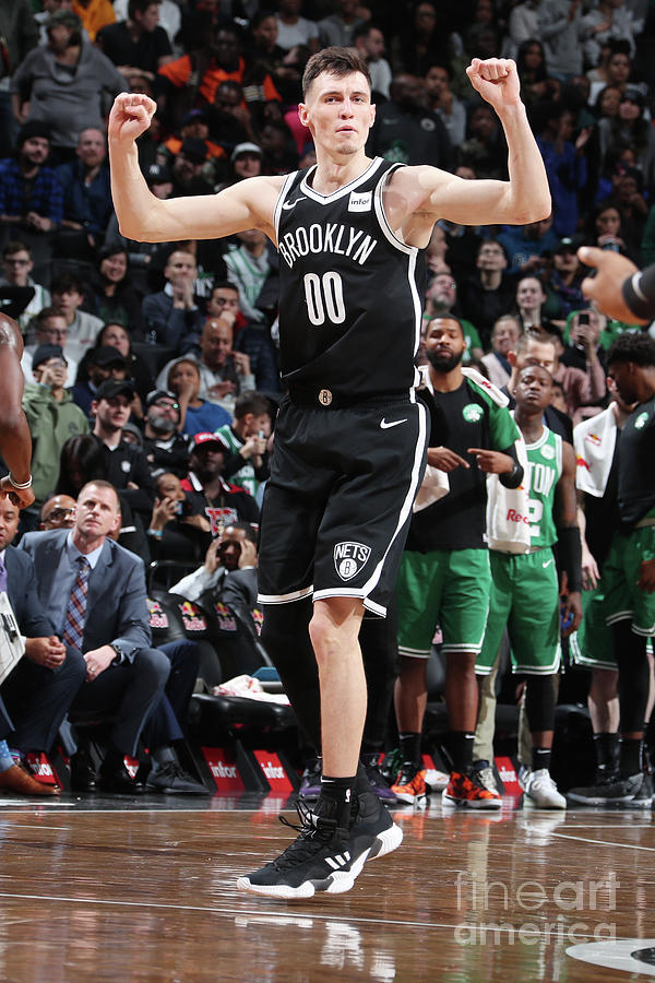 Boston Celtics V Brooklyn Nets Photograph by Nathaniel S. Butler