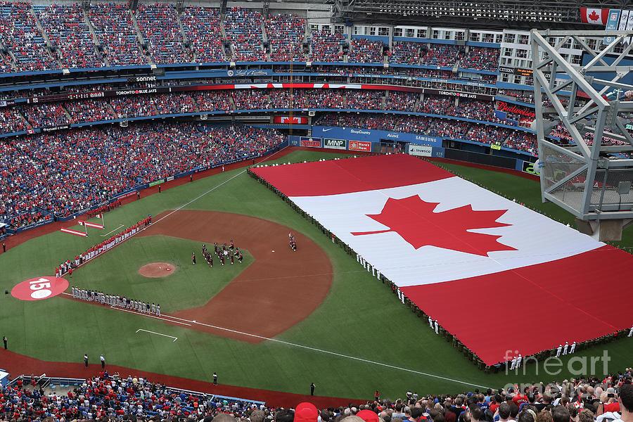Boston Red Sox V Toronto Blue Jays 16 Photograph by Tom Szczerbowski