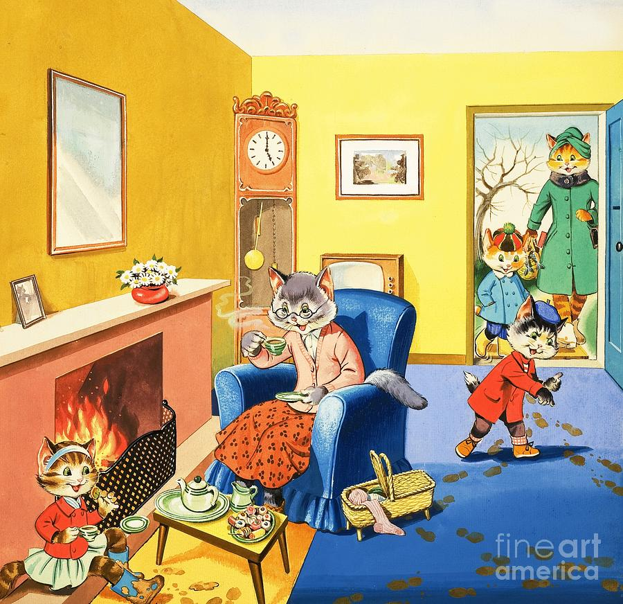 Num Num And His Funny Family by Gordon Hutchings