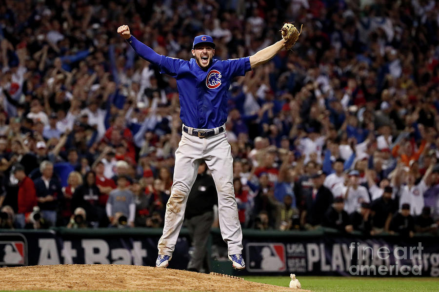 World Series - Chicago Cubs V Cleveland 16 Photograph by Ezra Shaw