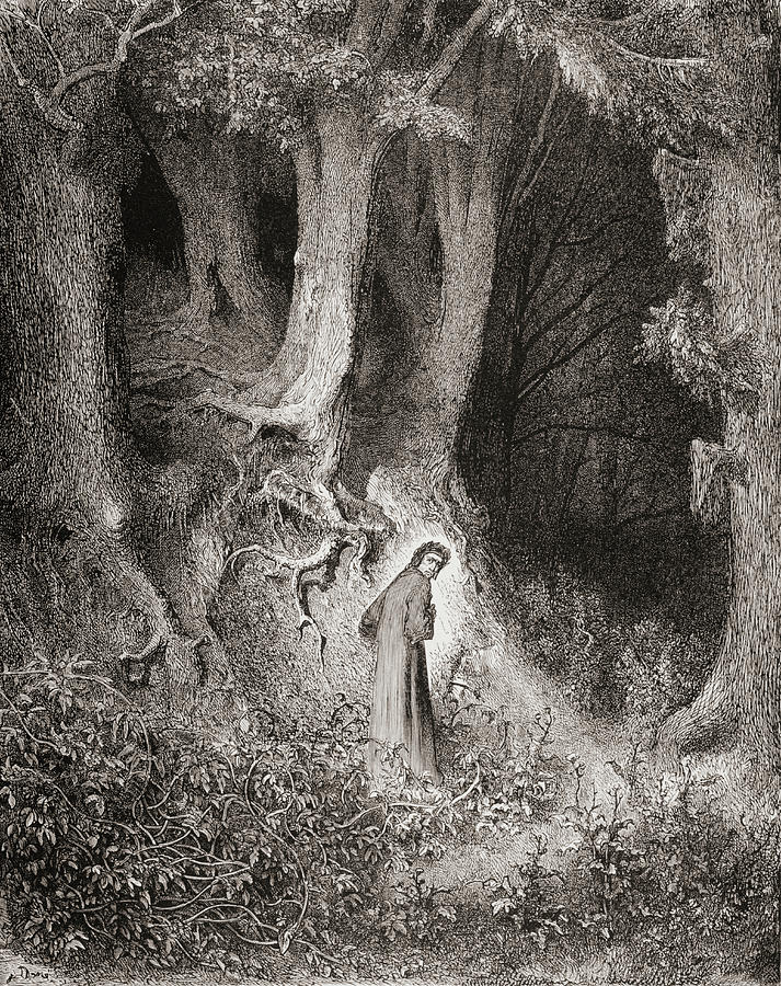 Illustration By Gustave Dore Inferno By Dante Alighieri