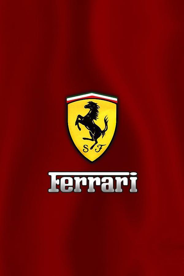 Ferrari Logo Digital Art by Ferrari Logo
