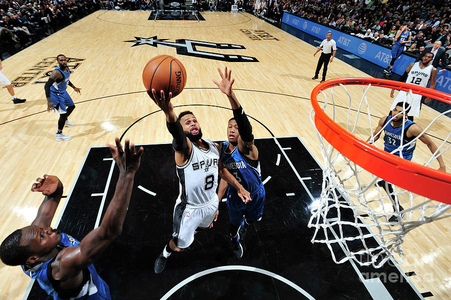 Minnesota Timberwolves V San Antonio Photograph by Mark Sobhani