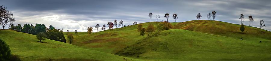picturesque autumn landscape in west virginia by ALEX GRICHENKO