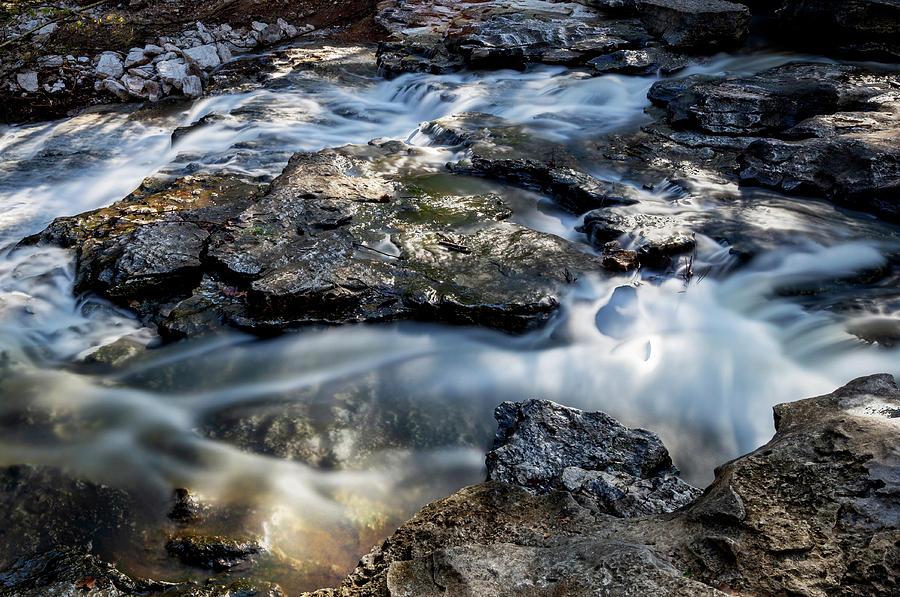 Tanyard Creek Waterfall by Michael Munster