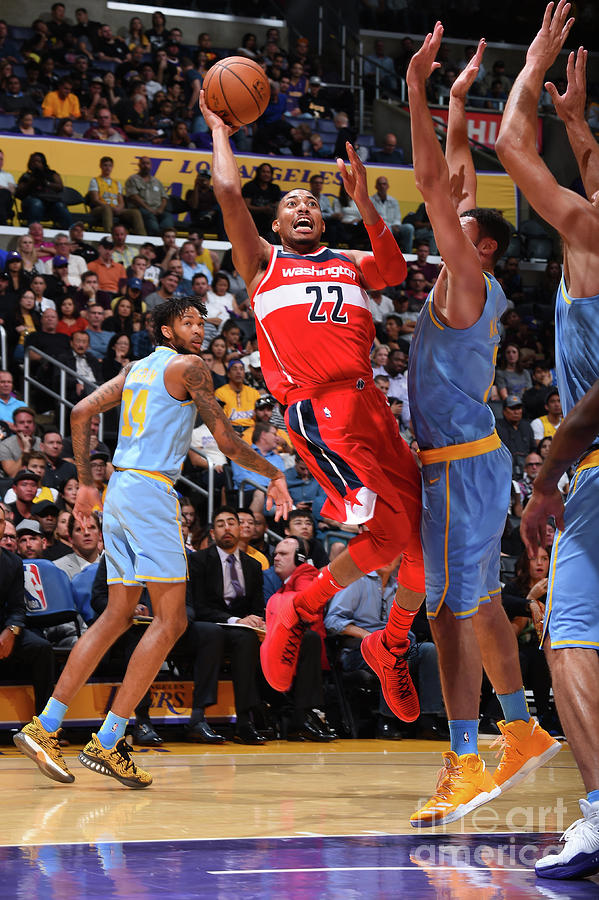 Washington Wizards V Los Angeles Lakers Photograph by Andrew D. Bernstein