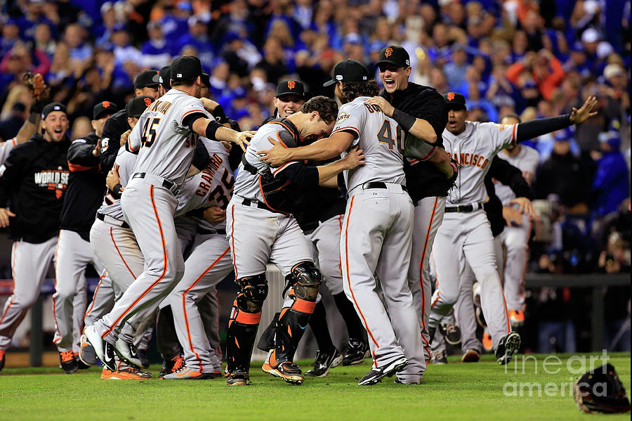 World Series - San Francisco Giants V 17 Photograph by Jamie Squire