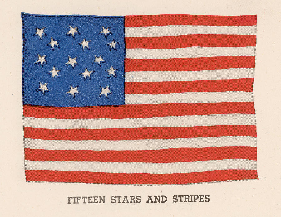 1794 American Flag Photograph by Kean Collection
