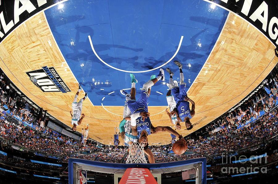 Charlotte Hornets V Orlando Magic Photograph by Fernando Medina