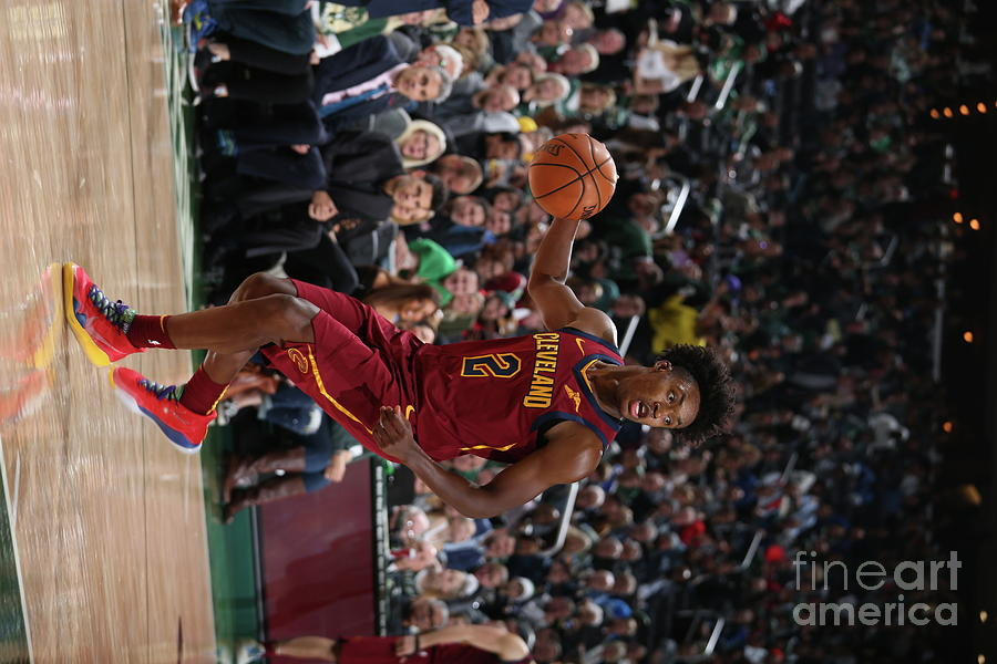 Cleveland Cavaliers V Milwaukee Bucks Photograph by Gary Dineen