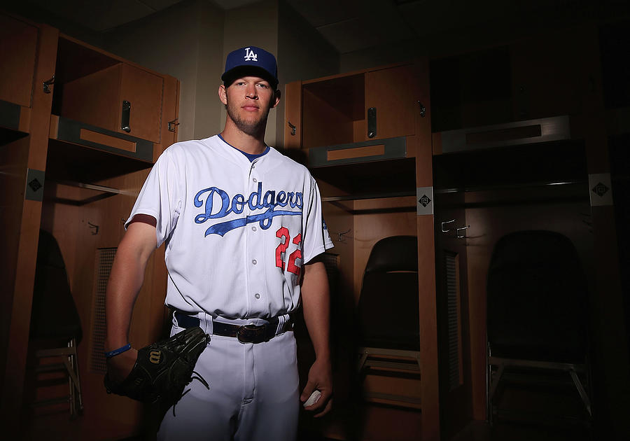 Los Angeles Dodgers Photo Day 18 Photograph by Christian Petersen