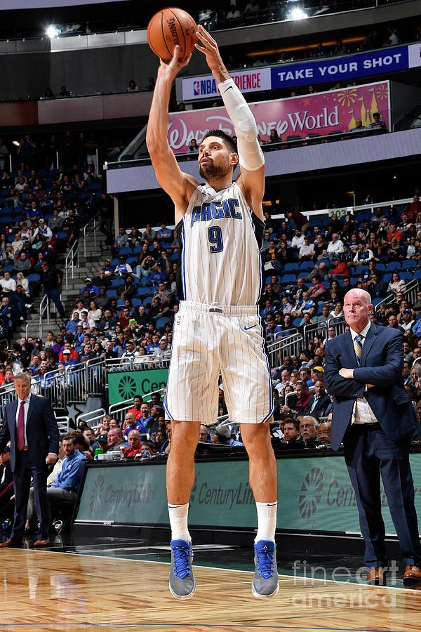 Philadelphia 76ers V Orlando Magic Photograph by Fernando Medina