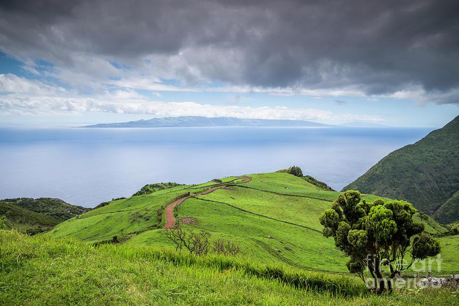 Portugal, Azores, Sao Jorge Island Photograph by Walter Bibikow