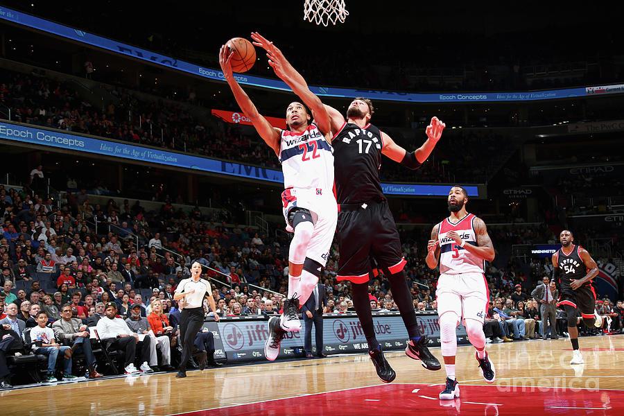 Toronto Raptors V Washington Wizards Photograph by Ned Dishman