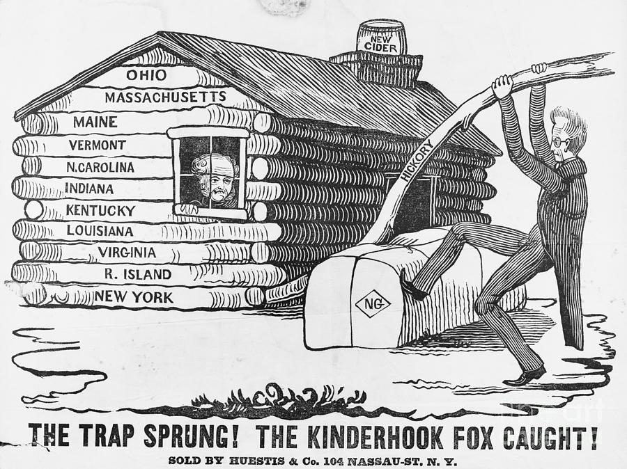1840 Presidential Election Cartoon Photograph by Bettmann