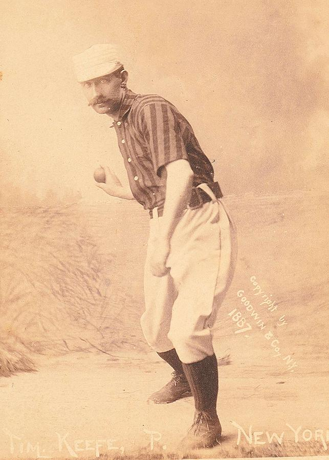 1888 Old Judge Tobacco Cigarette Baseball Player Card