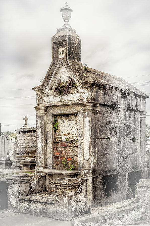 1893 Tomb New Orleans by Kathleen K Parker
