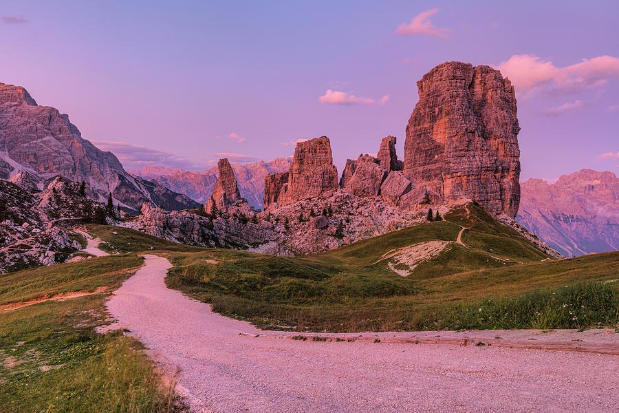 Cinque Torri Photograph - Cinque Torri, Dolomites - Italy by Joana Kruse