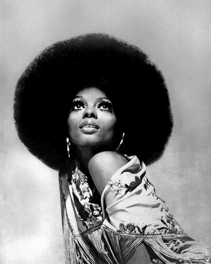 Event Photograph - Diana Ross Portrait Session by Harry Langdon
