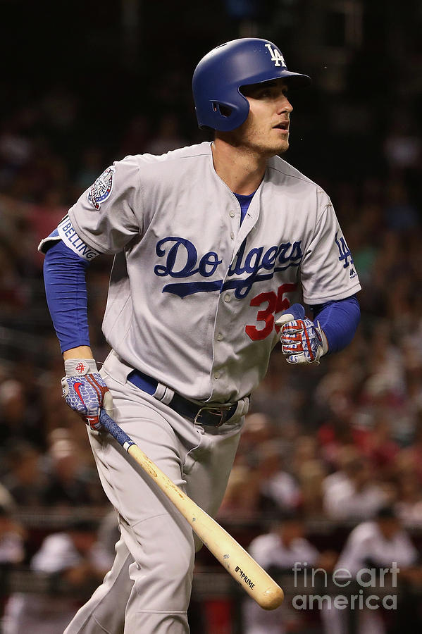 Los Angeles Dodgers V Arizona Photograph by Christian Petersen
