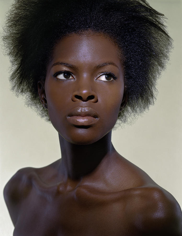 19-year-old African American Woman By Brad Wilson