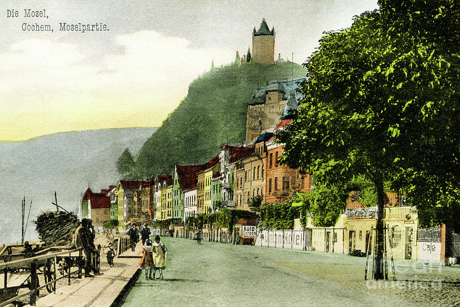 1900 Cochem Mosel Moselle by Aapshop