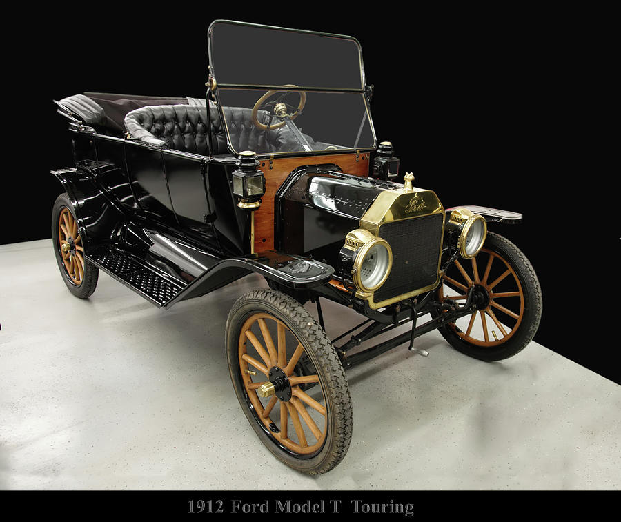 1912 Ford Model T Touring by Chris Flees