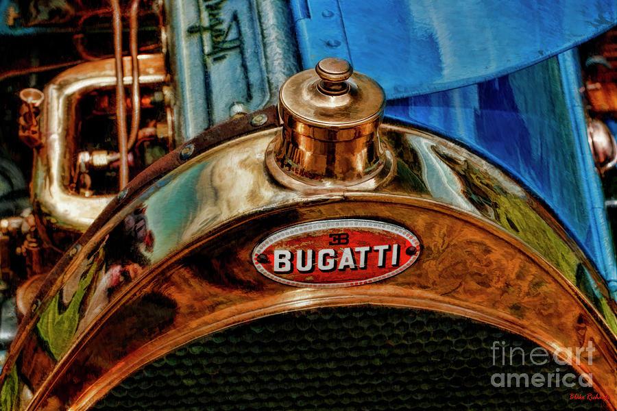 1913 Bugatti Type 22 Radiator Cap by Blake Richards