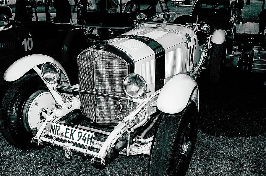 Mercedes Benz Photograph - 1920s Mercedes Benz Convertible by Graham Cornall